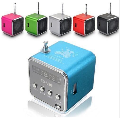 TD-V26 Mini Radio Speaker