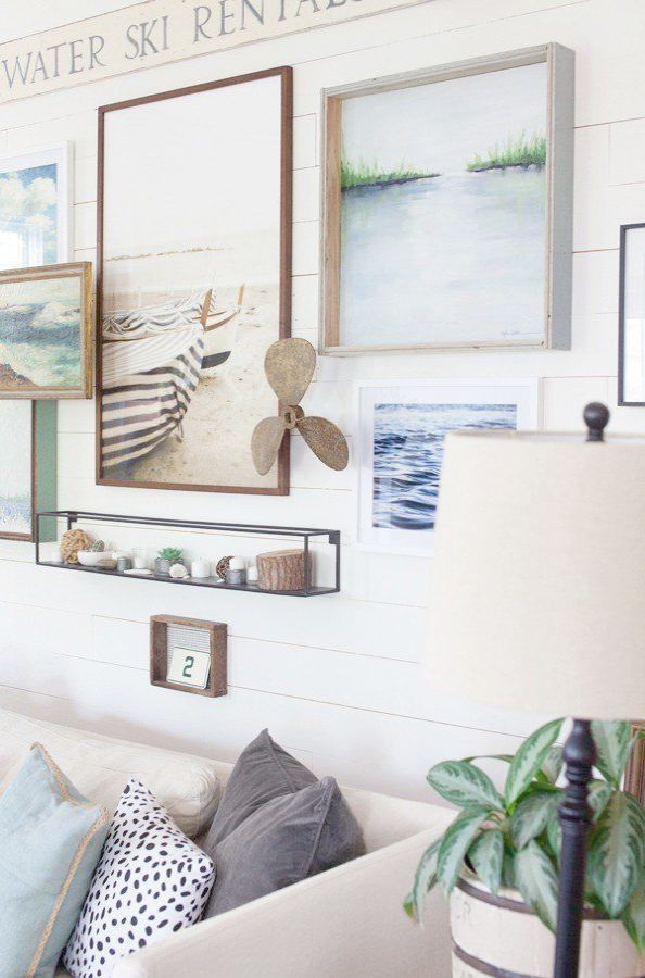 Amazing Beach Cottage Living Room Pinterest D With Images