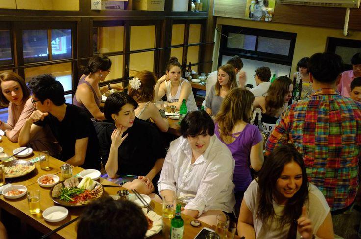 Students Karaoke in Korea | studentNight3