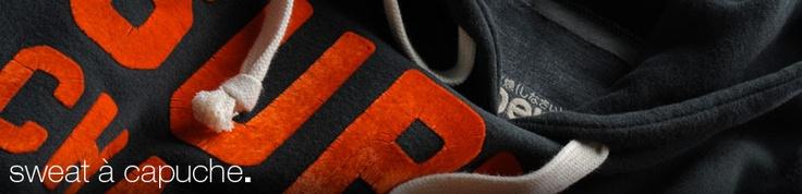 Sweat Superdry - Sweat pour Homme - Sweat à Capuche & Sweat Shirt