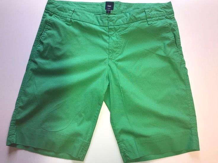 GAP WOMENS Green Shorts Size 8    eBay