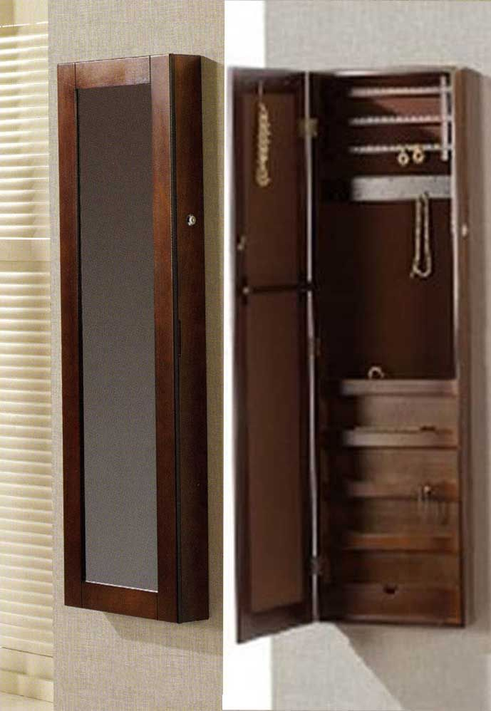Espejos Vestidores de pared FINE Nogal. Decoracion Beltran, tu tienda de muebles joyeros en internet. www.decoracionbeltran.com