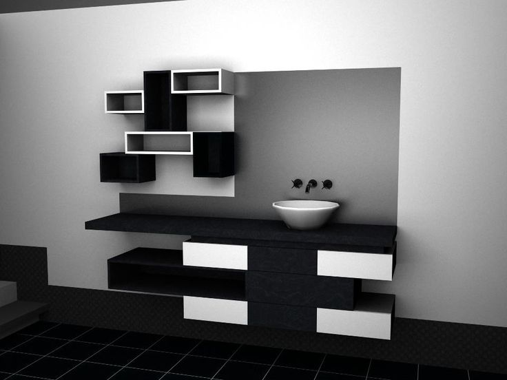 Popular Modern Vanity Design Render Love