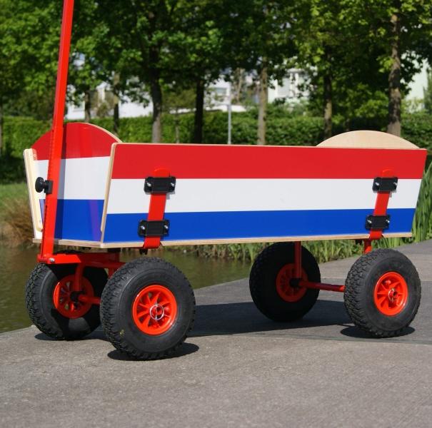 Bolderkar Rood-wit-blauw | BW-HOLLAND