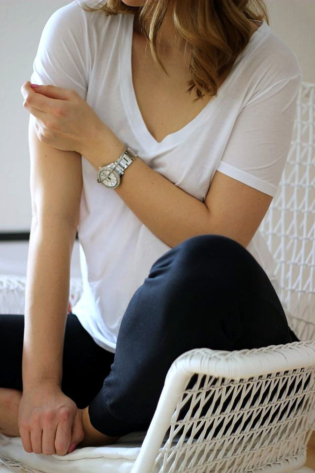 OUTFIT: The perfect white Tee [SCHIESSER REVIVAL]