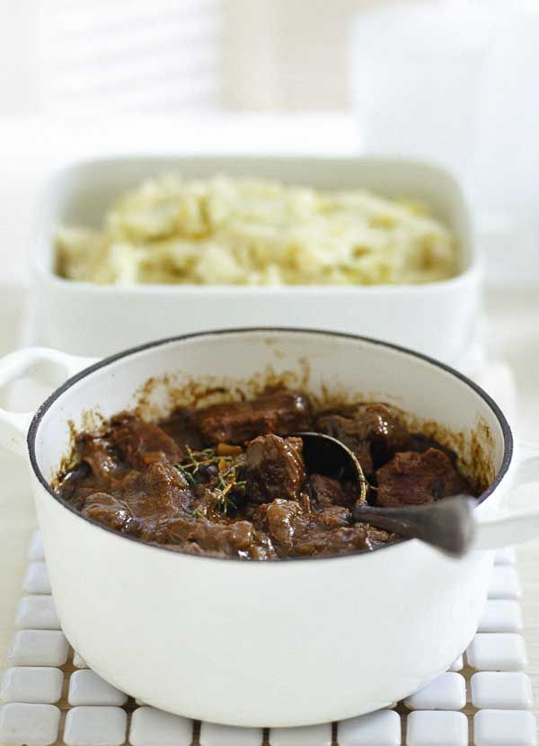 Sunday lunch is easy with this beef and Guinness stew. This one-pot results in meltingly tender meat – just a little prep and a long, slow cook for a deep, rich, weekend treat. Plus instructions on how to make this in a slow cooker.