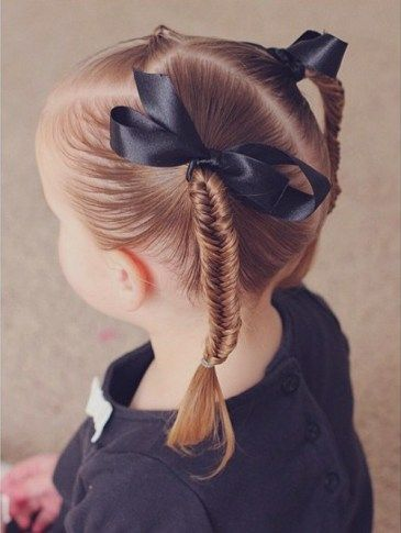 Hairstyles For Little Girls Beauteous 52 Best Little Girl Hairstyles Images On Pinterest  Girls Hairdos
