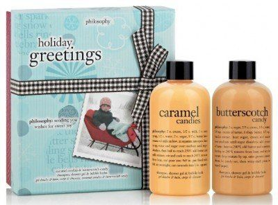 Philosophy Holiday Greetings Boxed Gift Set with Caramel Candies and Butterscotch Candy Philosophy,http://www.amazon.com/dp/B00EHPNH7M/ref=cm_sw_r_pi_dp_1SZRsb10E1ASFQ3F