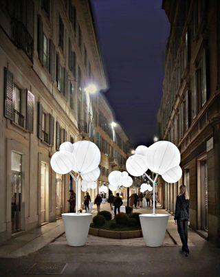 COMUNE DI MILANO - Via della Spiga si accende di luce e design