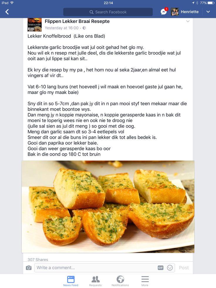 Lekker Knoffel brood