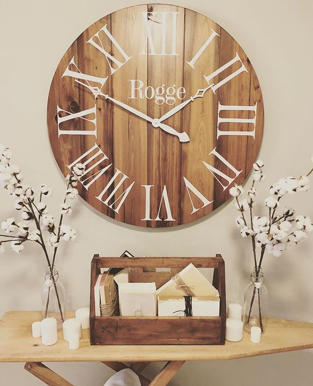 Gorgeous Handmade Clock Personalized With Your Family Name It Is Lovingly Created With Reclaime Reclaimed Barn Wood Rustic Wall Clocks Personalized Wall Clock