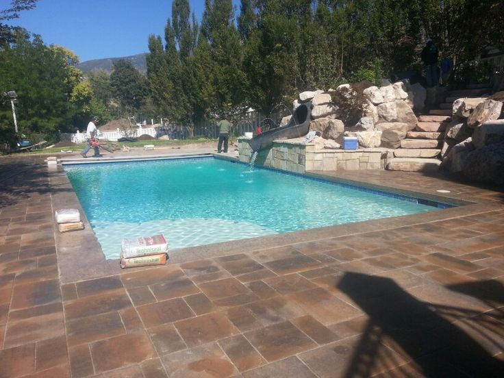 59 best images about custom landscaping on pinterest for Indoor pools in utah
