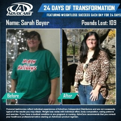 Advocare 24 Day Challenge Before & After. AdvoByTheresa.com Facebook ...