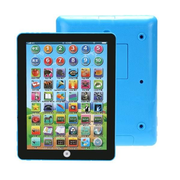 1PC Russian Computer Learning Education Tablet Touch Toy Games Gift for Kid
