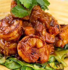 Shrimp Diablo | DJFoodie.com: Filling, Generally Simple, Delicious Low Carb Recipes
