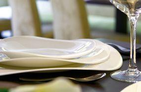 Luminarc Volare: szinte törhetetlen, légiesen vékony tányérok, csészék, étkészletek.