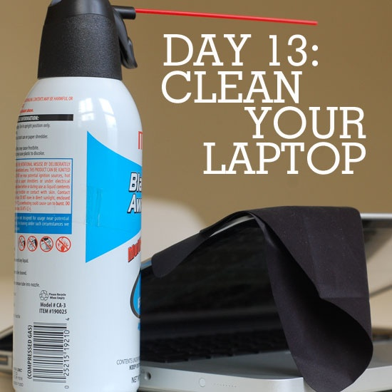 how to clean and optimize your laptop