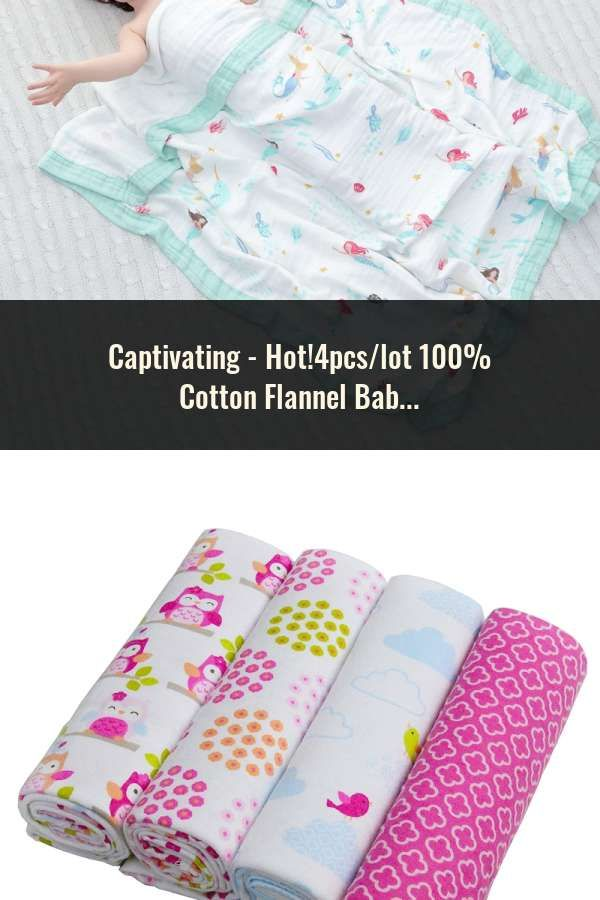 Hot 4pcs Lot 100 Cotton Flannel Baby Boys Girls Blanket Swaddling Newborn Colorful Cobertor Soft Bab Baby Muslin Swaddle Baby Bath Towel Baby Swaddle Blankets