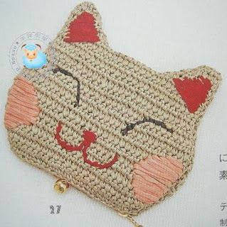 وجه قطه بالكروشيه - crochet cat face ~ شغل ابره NEEDLE CRAFTS