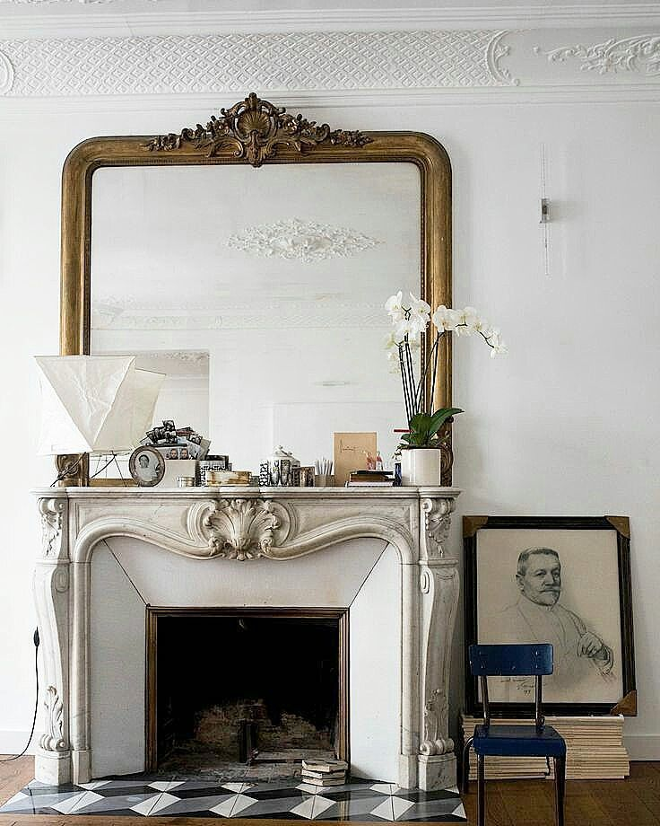 White Or Black Fireplace Mantles Antique Fireplace Mantle