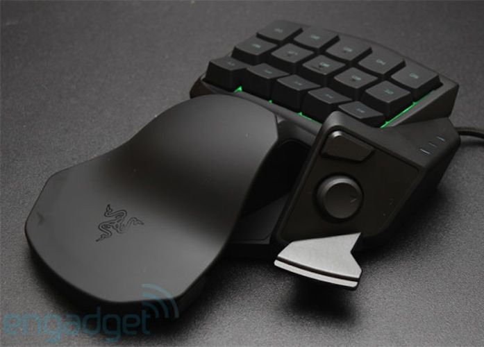 Razer Tartarus Gaming Keypad / Expert gamers know how big an impact the right keyboard and keystroke settings and combinations have on your gaming abilities. http://thegadgetflow.com/portfolio/razer-tartarus-gaming-keypad/