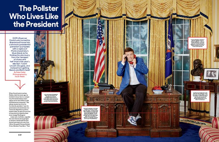 The Pollster Who Lives Like the President / The Hollywood Reporter / 10.21.16 / kelsey stefanson / art direction + graphic design / yeskelsey.com