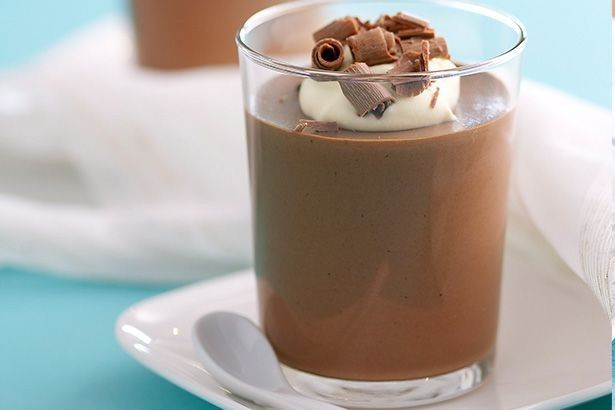 It's hard to beat the classics so keep it traditional with this decadent chocolate mousse treat.