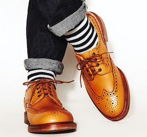 Striped socks #menswear #mensfashion