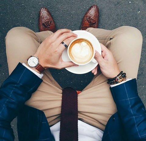 """Another day another cup of coffee"" #goodmorning #people"