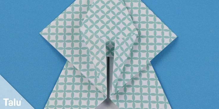 Origami-Engel basteln