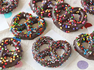 Super easy to make chocolate pretzels! They are really good too! I am definitely going to make them again!!
