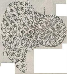 Delicadezas en crochet Gabriela: Capelinas moldes en ganchillo