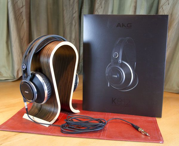 The AKG K812 Professional Reference Headphone