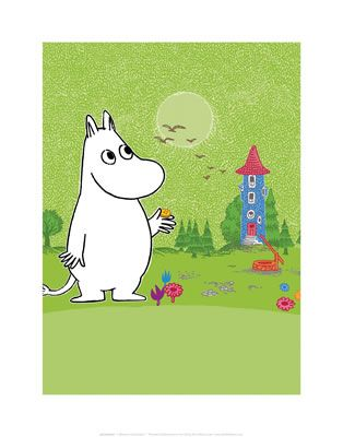 Moomin Print by Tove Jansson   on StarEditions.com - Wholesale Prints and Gifts