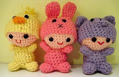 Японские игрушки амируками свяжем сами!