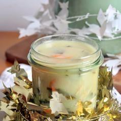 Waniliowa zupa mleczna z gwiazdkami - przepisy.net