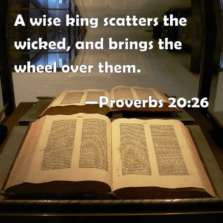 Proverbs 20:26