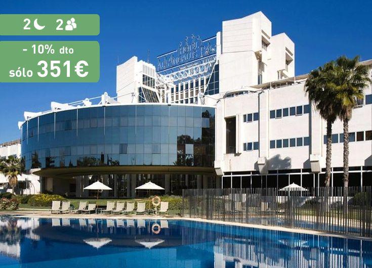 Disfruta de Sevilla en su precioso hotel Silken AL-Andalus Palace **** https://www.reembolsing.com/oferta/sevilla/silken-al-andalus-palace/853