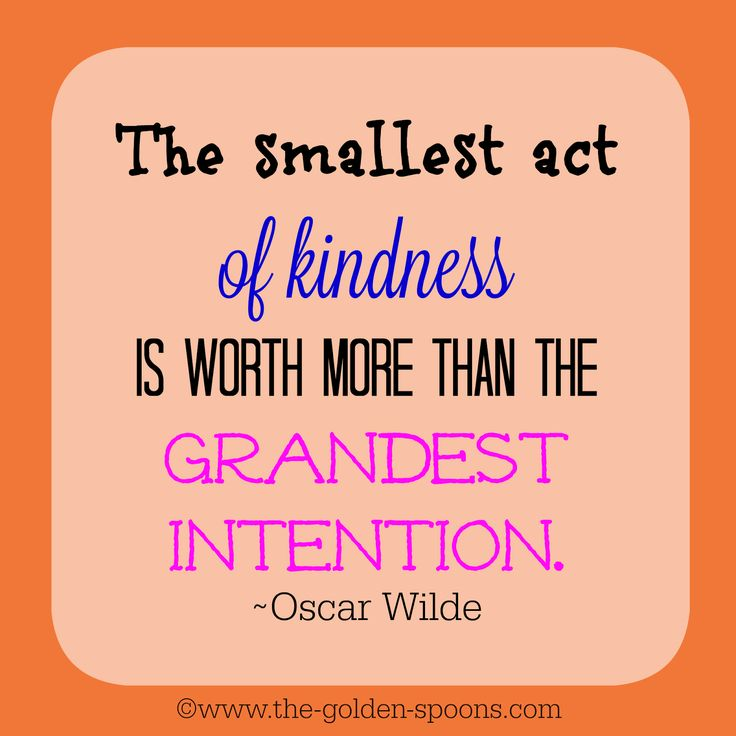 The Golden Spoons: Inspiring Kindness