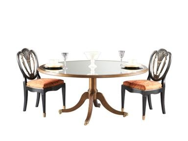 NCfurniture Shop For Hickory White Round Pedestal Dining Table 960 10 04 And Other Room Tables At Elite Interiors In Myrtle Beach SC