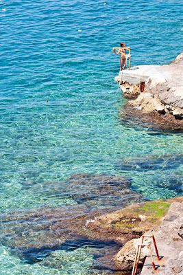 2nd on my list of places to visit is Croatia. Bluest Sea in the World. Stuff of dreams.