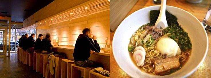 Momofuku Noodle Bar, the first Momofuku restaurant, has become one of the premier East Village ramen houses