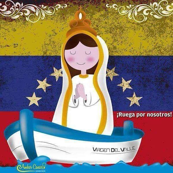 Virgen del Valle 8 de Septiembre . Venezuela