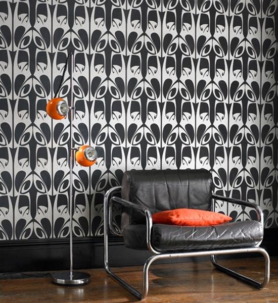 dramaticFun Wallpapers, Gold Wallpapers, Hula Wallpapers, Art, Wallpapers Wednesday, Barbara Hulanicki, Wallpapers Inspiration, Hulanicki Hula, Black