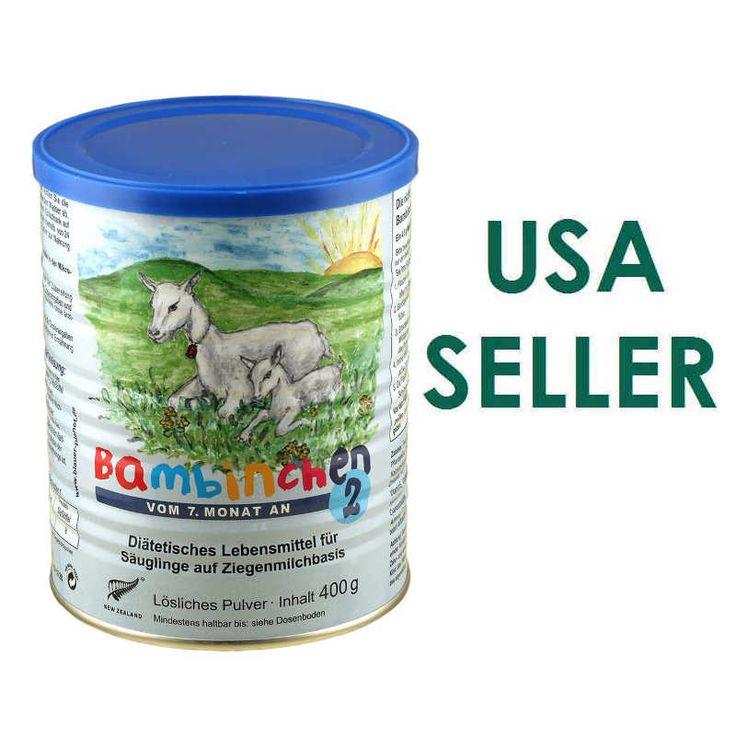 Bambinchen Goat Milk Baby Formula Stage 2 400g USA Seller