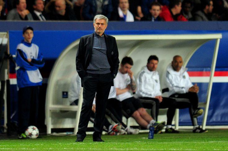 Jose Mourinho Photos: Paris Saint-Germain FC v Chelsea