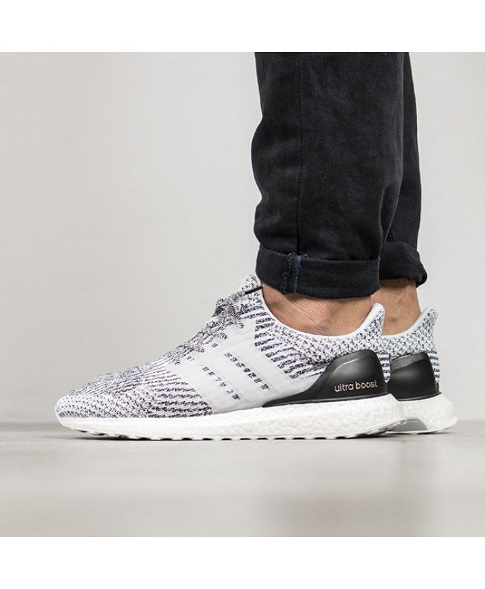 58a29458c Adidas Ultra Boost 3 0 Primeknit Oreo Grey White trainers for cheap Sale