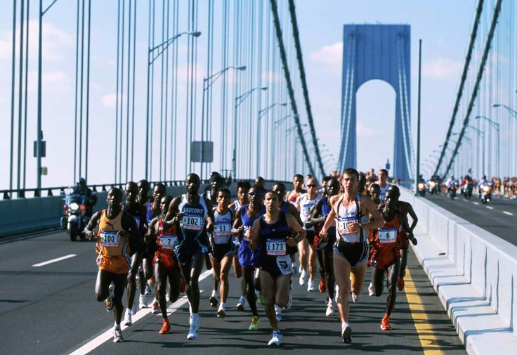Because you can visit all 5 boroughs in a few hours by running the annual NYC Marathon....and all 5 boroughs are there to cheer you along the way!