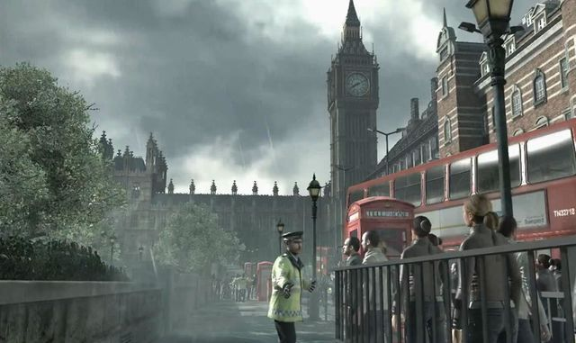 Pixel Pasts. Elizabeth Tower / Big Ben, London is featured in Call of Duty: Modern Warfare 3, 2011 (Infinity Ward, Sledgehammer Games, Raven Software, Neversoft Entertainment, Activision).