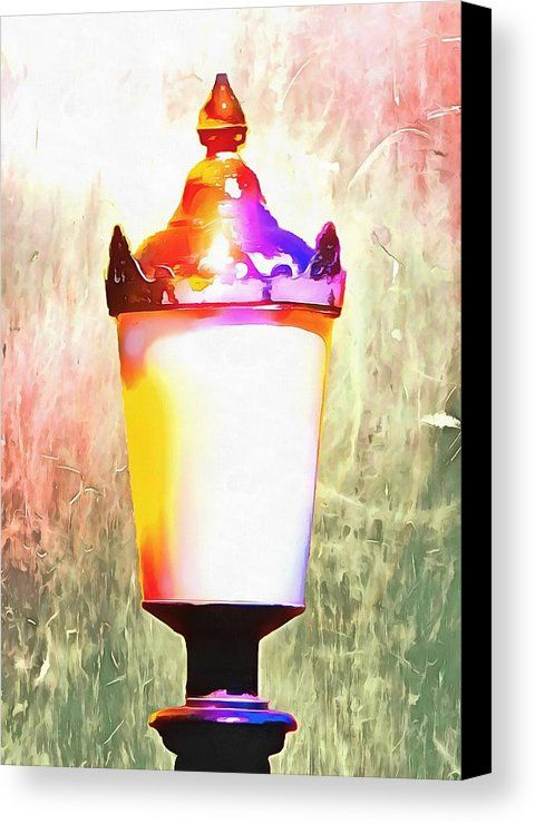 Shining A Light Canvas Print featuring the photograph Shining A Light In The World by Dorothy Berry-Lound #heallingart #spiritualart